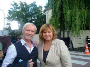 """Tournage """"la smala 2"""" de Didier GROUSSET avec Michèle Bernier Production BARJAC"""