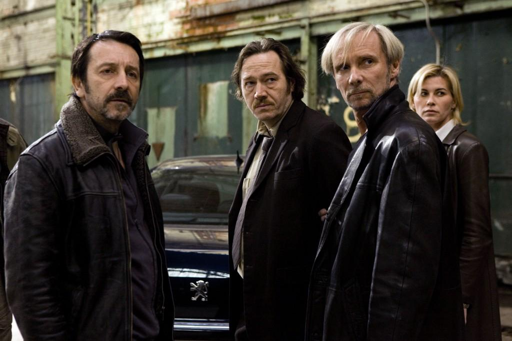 Jean-Hugues Anglade (dans le rôle de Eddy Caplan), Olivier Rabourdin (Max Rossi), Geoffroy Thiebaut (Roland Vogel)
