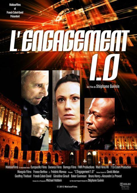 Affiche du film Lengagement 1.0 - https://www.geoffroythiebaut.com