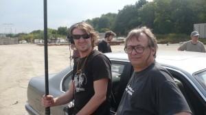Ingénieur Son: Eric ROPHÉ et son perchman Yannick BLANQUET