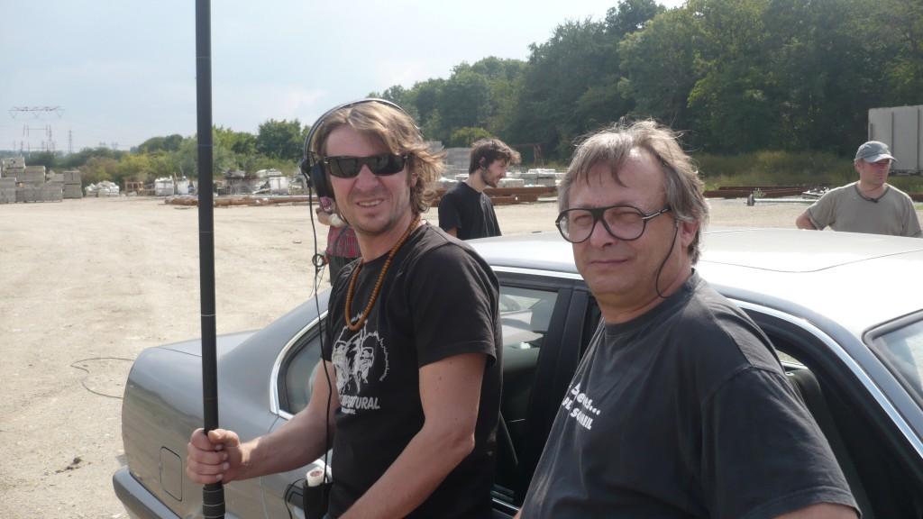 Ingénieur Son: Eric ROPHÉ et son assistant Yannick Blanquet