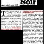 l'amour de l'amour - Presse - http://www.geoffroythiebaut.com/