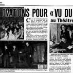 Vu du Pont - Presse Théâtre : http://www.geoffroythiebaut.com