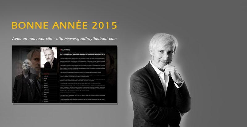 Bonne Année 2015 - http://www.geoffroythiebaut.com